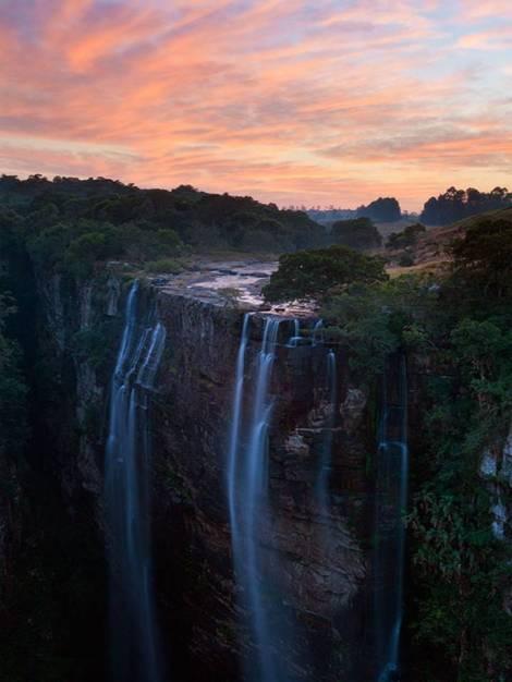 Sudafrica Magwa falls