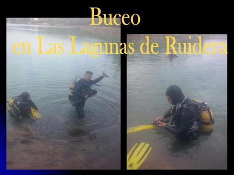 Buceo en las Lagunas de Ruidera