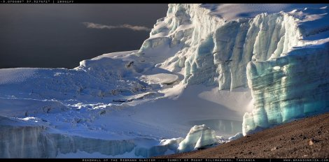 Glaciar Kilimanjaro