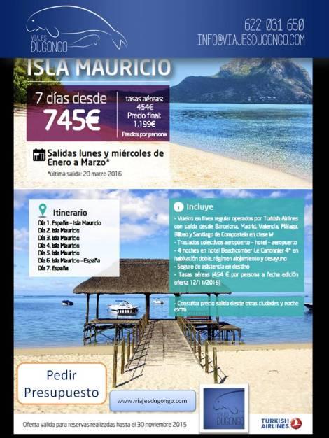 Viaje a Isla Mauricio