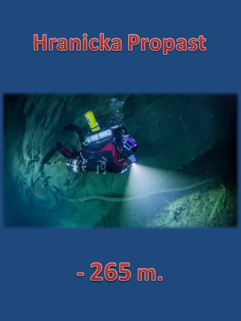 Krzysztof Starnawski de 47 años,récord de la inmersión más profunda con circuito cerrado,Hranická Propast es la cueva inundada más profunda ?