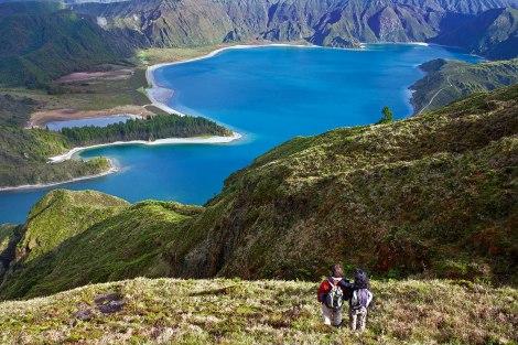 Senderismo en Islas Azores