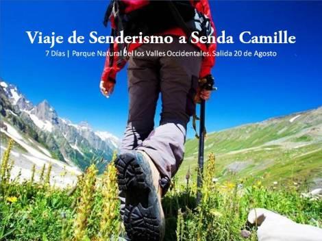 Viaje de Senderismo a Senda Camille