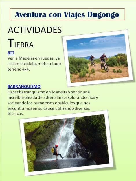 Que actividades hacer en Madeira
