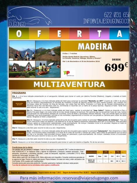 Ven a Madeira