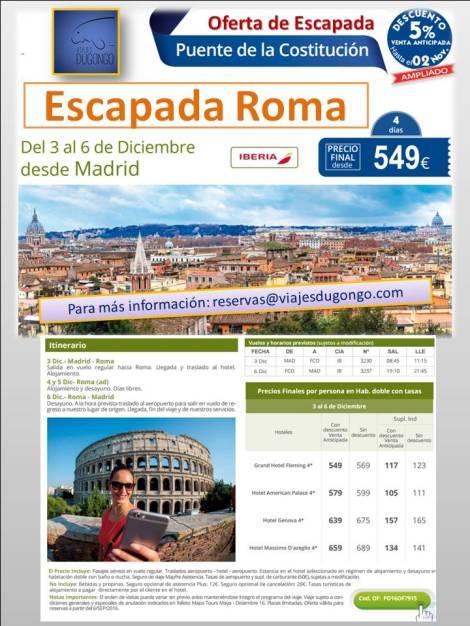 Las mejores ofertas para viajar a Roma