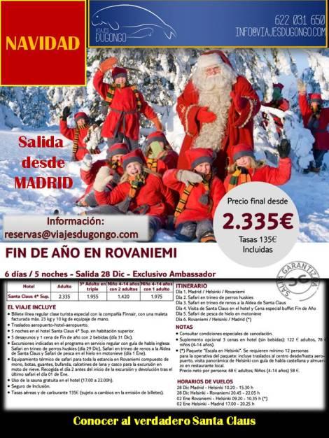 Viaje a Laponia - Rovianemi