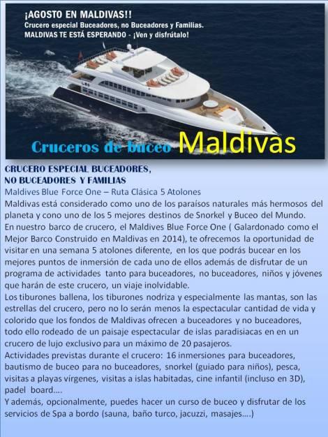 Crucero de Buceo en Malñdivas