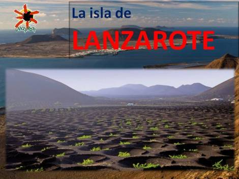 La isla de LANZAROTE