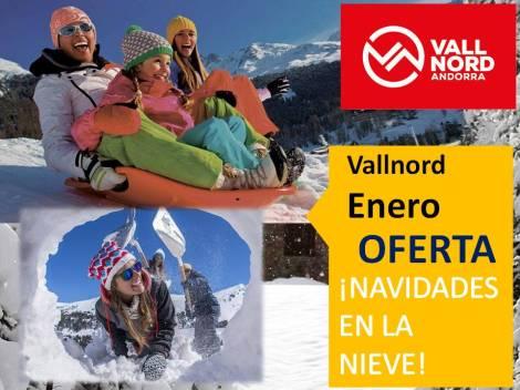 Alojamiento + Forfait en Vallnord